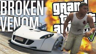 I BROKE THE VENOM GT MOD!!! | GTA 5 Mods