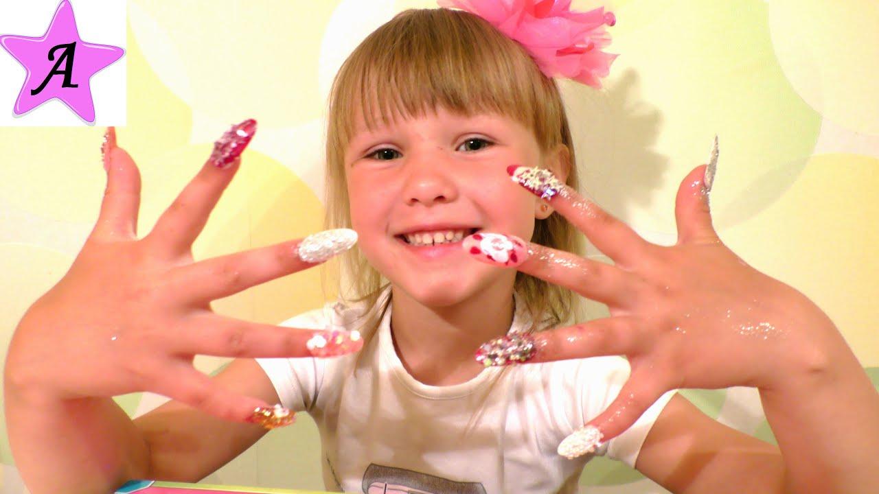 Как сделать ногти из пластилина 18
