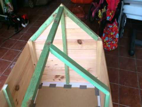 Como hacer casa para gatos de madera
