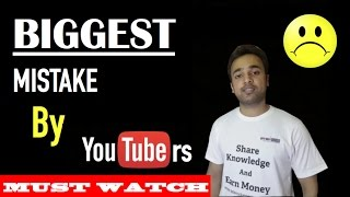 Biggest Mistake by YouTubers Invalid Click Activity - SEO Search Engine Optimization Strategies