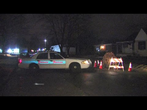 Man injured in porch shooting on Greensboro Street in Detroit