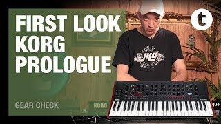 Let's play   Korg Prologue 16   Analogue Synthesizer   Thomann