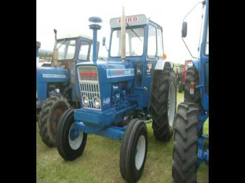 Fingal Show 2009 featuring 1988 Ford 7610 Ransomes Push Pull Reversible plough