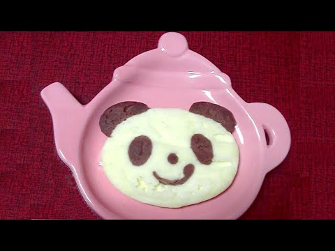 Kracie - Panda cake making kit (Oekaki panda yaki) (Edible / can eat)