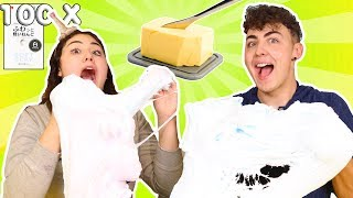 100 LAYERS OF DAISO CLAY IN SLIME | MEGA GIANT SUPER SIZED BUTTER SLIME | Slimeatory #291