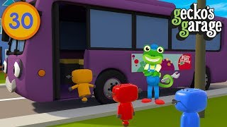 Jump Aboard Bobby If You're Happy and You Know It | Gecko's Garage | Nursery Rhymes | Truck Songs