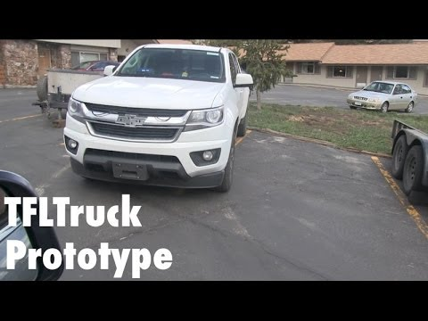 2016 Chevy Colorado Duramax Diesel Pickup Prototype Caught in the Wild