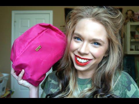 WHAT'S IN MY MAKEUP BAG 2014 | GRAV3YARDGIRL