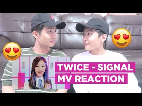 "TWICE ""SIGNAL"" M/V REACTION!!!"