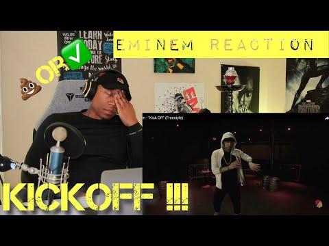 TRASH or PASS!! Eminem (Kick Off Freestyle) [REACTION]