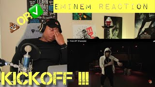 TRASH or PASS!! Eminem (Kick Off Freestyle) [REACTION]