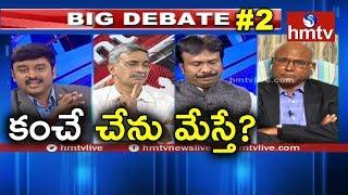 Kancha Ilaiah Targeted Again in Telangana | Kancha Ilaiah Response | Big Debate#2 | hmtv