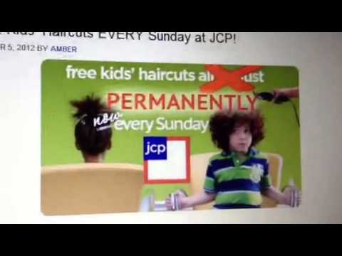 FREE KIDS HAIRCUTS EVERY SUNDAY AT J.C. PENNEY starting 11/
