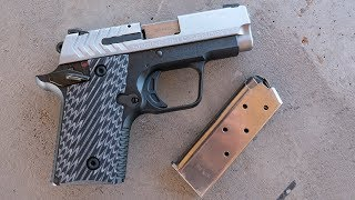 Springfield Armory demonstrates their new 911 .380 ACP micro pistol