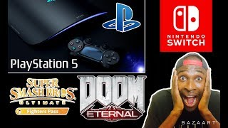 PS5 News | Smash DLC | Metro Redux Switch | Doom Eternal Delayed | PS5 Controller| PS5 Launch Game