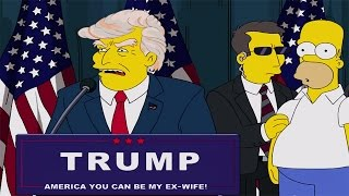 Top 15 Creepy Times The Simpsons Predicted The Future
