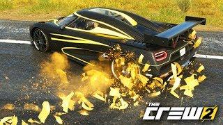 THE CREW 2 - KOENIGSEGG QUE SOLTA OURO muito OSTENTAÇÃO!!!
