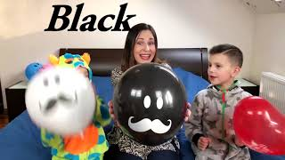 Kids play with BALLOONS Funny video for Children Toddlers Babies by Joy Joy Lika