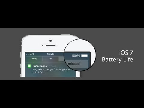 iOS 7 Beta Battery Life Issue + Fix!