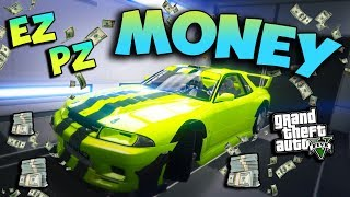 *MEGA EASY*MONEY GLITCH*MAKE MILLIONS IN MINUTES*GTA 5 ONLINE 1.44/1.45*FAST MONEY CAR DUPE GLITCH
