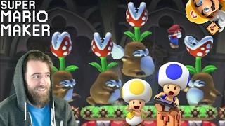 Moles, Trolls & Tricky Shell Puzzoles | SUPER EXPERT NO SKIP [#04] - Super Mario Maker
