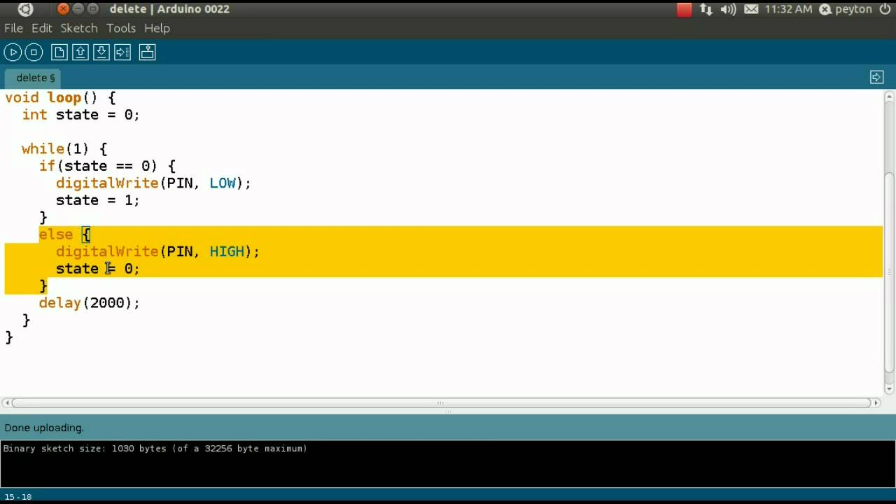 Arduino uno download linux