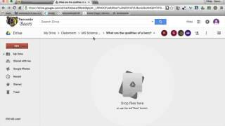 Google Classroom Organization