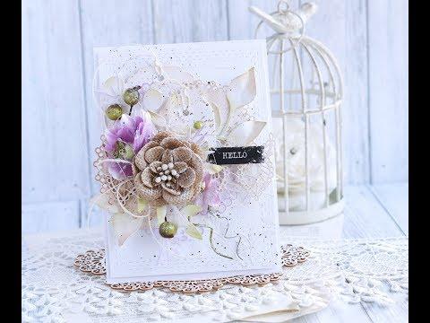 Romantic Card Step by step with Penny Black * Emilia Sieradzan *