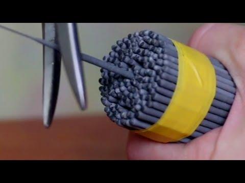 手持ち花火をまとめてロケットを作る方法!?