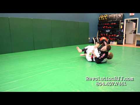 BJJ technique: advanced scissor half guard Kimura sequence Image 1