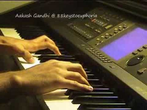 Tum Se Hi (Jab We Met) on Piano by Aakash Gandhi