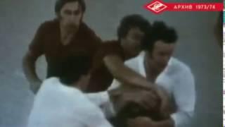 Тренировка Спартака. сезон 1973/74