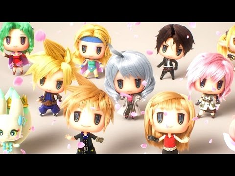 World of Final Fantasy: End Credits Dance Scene