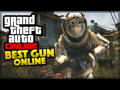 Guns Gta 5 Online Gta 5 Online Best Gun Ever Gta