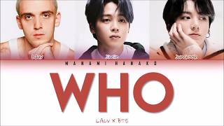 Download lagu {VOSTFR/ENG} LAUV x  JIMIN & JUNGKOOK of BTS (방탄소년단) - 'WHO' (Color Coded Lyrics Français/English)