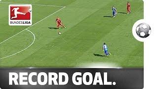 9-Second Goal - Volland's Bundesliga Record