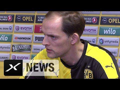 Thomas Tuchel zu Pierre-Emerick Aubameyang und Ilkay Gündogan | Borussia Dortmund - VfL Wolfsburg