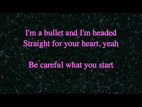 Bullet   Jessie James LYRICS ON SCREEN   Mobile