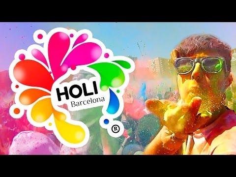 HOLI FESTIVAL BARCELONA 2015