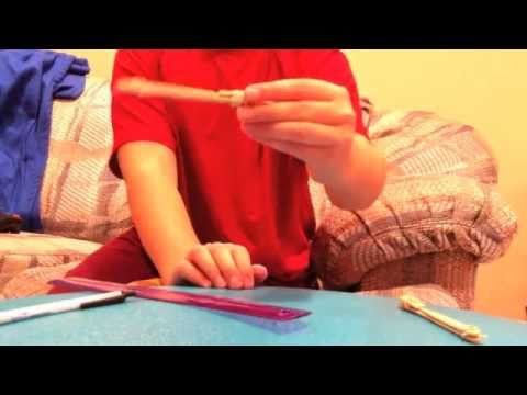 HOMEMADE WEAPONS: How to make a switchblade/pocket knife (easy)