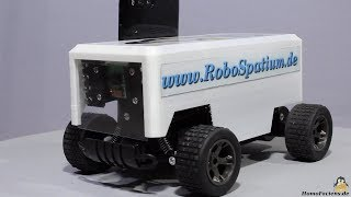 Building a rover from an RC model car Jule UJ99 2815B