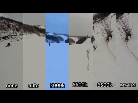 Tip #47 GoPro - Hero3 ProTune test in Snow / Cloudy