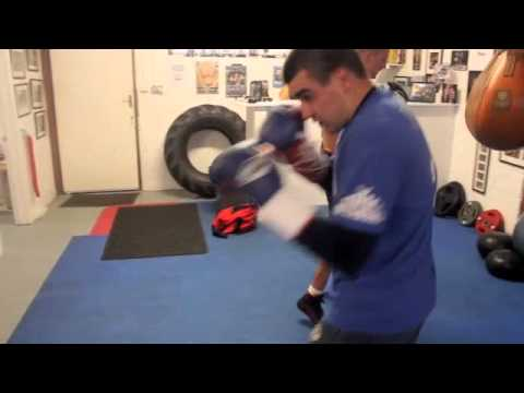 THE PEXICAN JOHNNY GARTON HEAVY BAG  WORKOUT FOOTAGE FOR iFL TV @ iBOX GYM