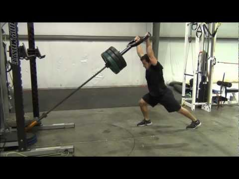 Clean and Jerk exercise alternative with the Renegade and Clean & Jerk attachment Image 1