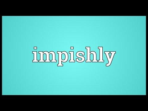 Header of impishly