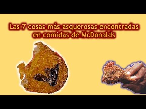 Las 7 cosas más asquerosas encontradas en comidas de McDonalds (Gas la #5!)