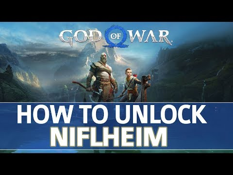 God of War - How to Unlock Niflheim Realm (All Niflheim Language Cipher Locations)