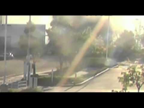 Wypadek Paula Walkera - Nagranie Z Monitoringu