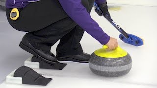 Learn to Curl - Mix Physical Activity with Mental Challenge