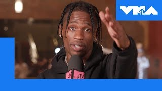 Travis Scott on 'Astroworld' & How Houston Influenced His Sound | 2018 Video Music Awards